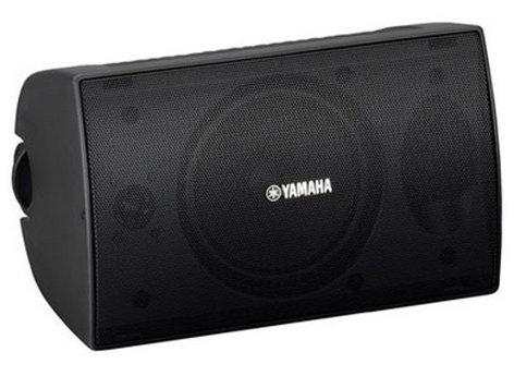 Yamaha VS6 1 Pair of 70V Surface Mount Speakers in Black - 50 Watt @ 8 Ohms VS6-CA