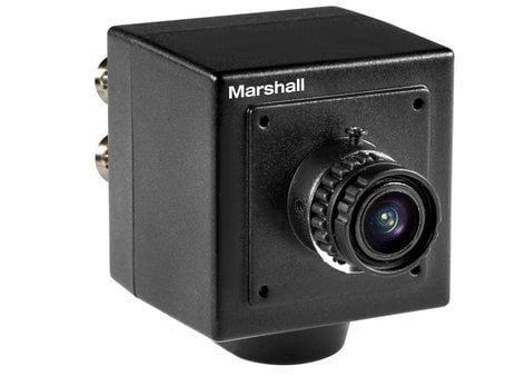Marshall Electronics CV502-MB 3.7mm Lens, 2.5MP 59.94FPS Mini Broadcast Camera CV502-MB