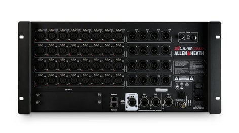 Allen & Heath DLIVE-CDM32 dLive C Class MixRack with 32 Microphone/Line Inputs and 16 Line Outputs DLIVE-CDM32