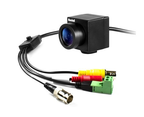 Marshall Electronics CV502-WPM Full HD Weatherproof Mini Non-Broadcast Camera with 3.7mm Lens CV502-WPM