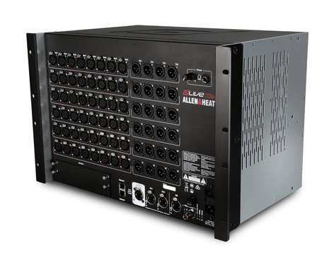 Allen & Heath DLIVE-CDM48 dLive C Class MixRack with 48 Microphone/Line Inputs and 24 Line Outputs DLIVE-CDM48