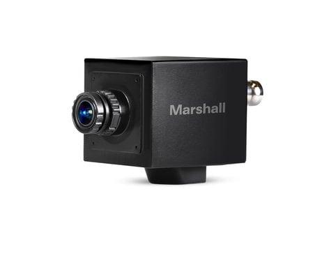 Marshall Electronics CV505-MB 2.5MP Mini Broadcast POV Camera with Stereo TRS Audio Input CV505-MB