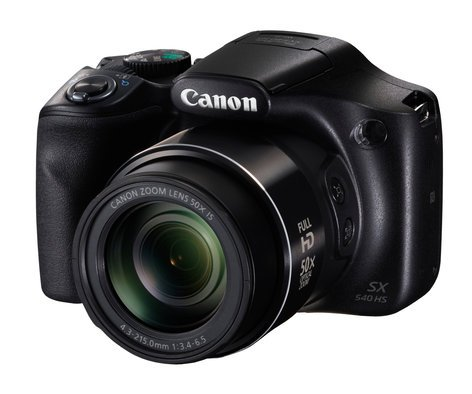 Canon PowerShot SX540 HS 20.3MP Long Zoom Camera in Black POWERSHOT-SX540HS-KT