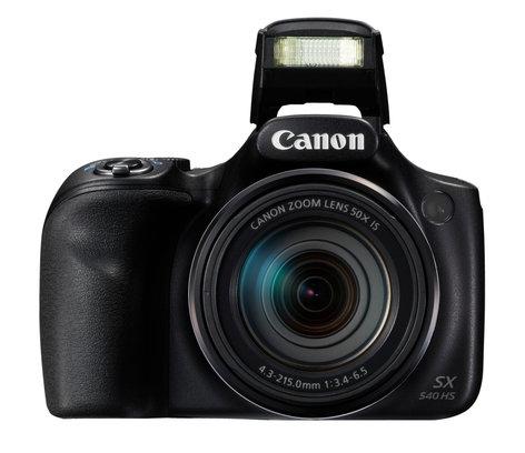 Canon POWERSHOT-SX540HS-KT PowerShot SX540 HS 20.3MP Long Zoom Camera in Black POWERSHOT-SX540HS-KT