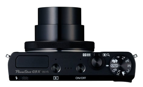 Canon PowerShot G9 X Mark II 20.1MP Compact Camera in Black or Silver POWERSHOT-G9X-KIT
