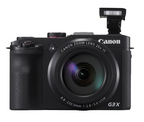 Canon PowerShot G3 X 20.2MP Advanced Compact Camera in Black POWERSHOT-G3X-KIT
