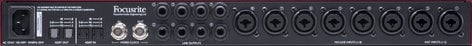 Focusrite Scarlett OctoPre Dynamic 8-Channel Mic Pre with A-D/D-A Conversion and Analogue Compression SCARLETT-OCTOPRE-DYN