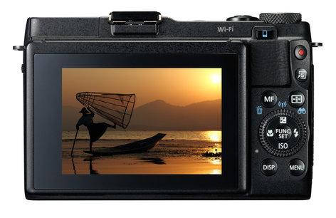 Canon PowerShot G1 X Mark II 12.8MP Advanced Compact Camera in Black POWERSHOT-G1X-MKII