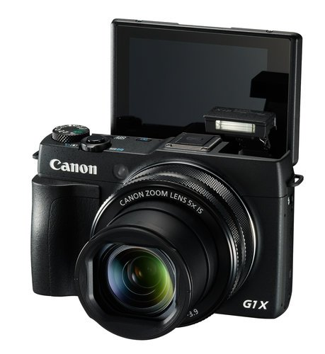 Canon POWERSHOT-G1X-MKII PowerShot G1 X Mark II 12.8MP Advanced Compact Camera in Black POWERSHOT-G1X-MKII