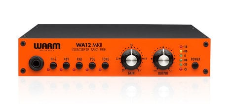 Warm Audio WA12 MKII Discrete Mic Preamp with DI WA12-MKII