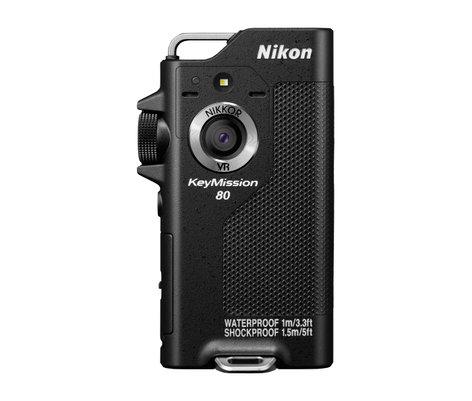 Nikon KeyMission 80 [RESTOCK ITEM] 12.4MP Compact Digital Camera in Black 26502-RST-01