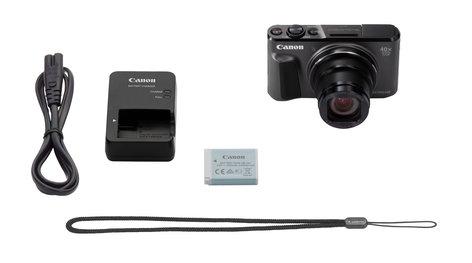 Canon POWERSHOT-SX720HS-KT PowerShot SX720 HS 20.3MP Compact Digital Camera with 40x Optical Zoom in Black POWERSHOT-SX720HS-KT