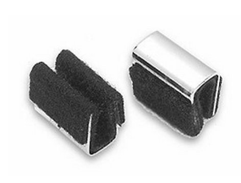 Fishman ACC-BP1-308 Pair of Felted U-Clips for Bass ACC-BP1-308
