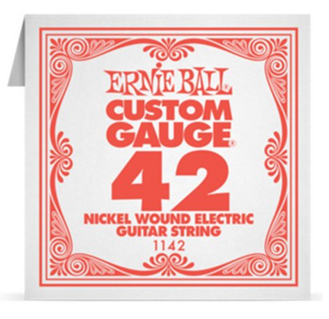 "Ernie Ball P01142 .042"" Nickel Wound Electric Guitar String P01142"
