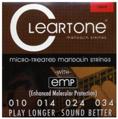 Cleartone Guitar Strings 7510 Light Mandolin Strings 7510-CLEARTONE