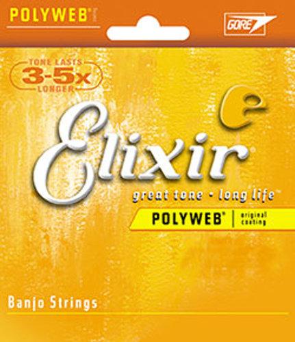 Elixir Strings 11650 Medium Banjo Strings 11650