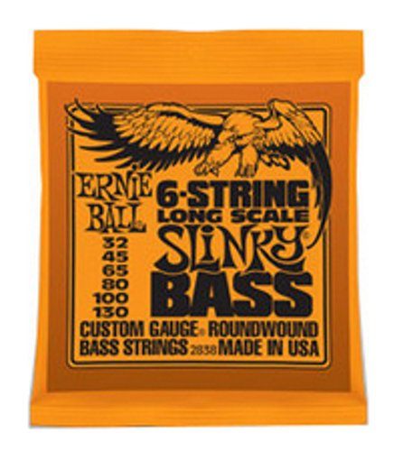 Ernie Ball P02838 Long Scale Bass VI Strings P02838