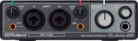 Roland Rubix 22 2 x 2 USB Audio Interface for Mac/PC/iOS RUBIX-22
