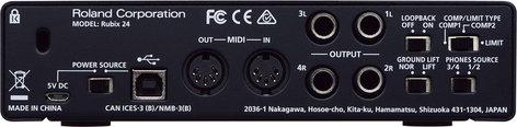 Roland Rubix24 2 x 4 USB Audio Interface for Mac/PC/iOS RUBIX-24