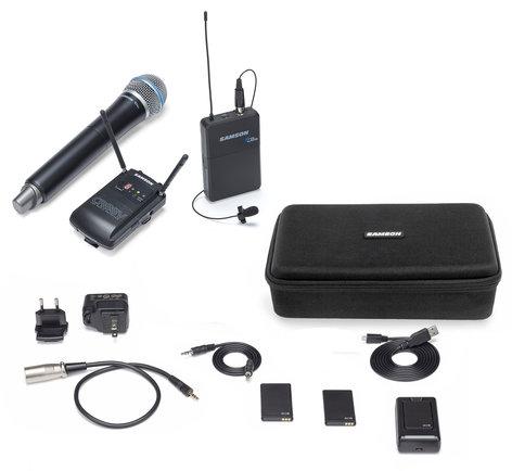 Samson Concert 88 Camera Wireless Combo Microphone System, D Band Version SWC88VBH108-D