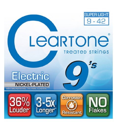 Cleartone Guitar Strings 9409-CLEARTONE Ultra Light Electric Guitar Strings 9409-CLEARTONE