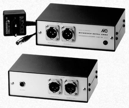 Microtech Gefell N200 48V Phantom Power Supply N200
