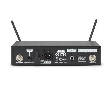 Samson Concert 99 Guitar Frequency-Agile UHF Wireless System Guitar System, K Band Model 470 - 494 MHz SWC99BGT-K