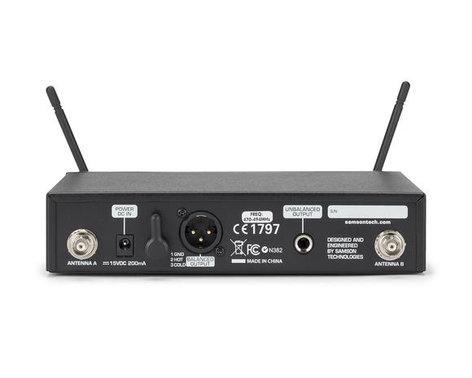 Samson SWC99BGT-D Concert 99 Guitar Frequency-Agile UHF Wireless System, D Band Model 542 - 566 MHz SWC99BGT-D