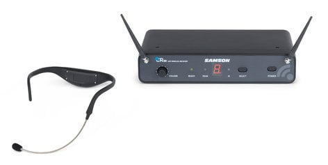 Samson AirLine 88 AH8 Headset UHF Wireless System, D Band Model 542-566 MHz SWC88AH8-D