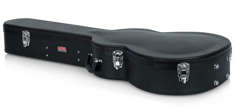 Gator Cases GWE-000AC  Hard-Shell Wood Case for Martin 000 Acoustic Guitars  GWE-000AC