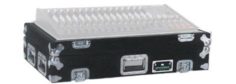 Grundorf Corp M-ALLWZ4162B  Carpet Series Mixer Case for Allen and Heath WZ4 16:2 in Black M-ALLWZ4162B