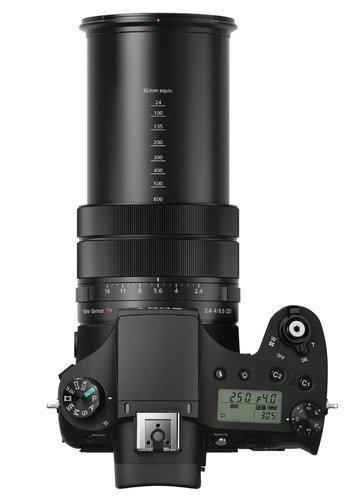 Sony RX10 III Cyber-Shot 20.1MP Compact Camera with F2.4-4 Large-Aperture 24-600mm Zoom Lens RX10III