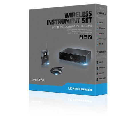 Sennheiser XSW1-CI1-A Wireless Instrument System, A-Frequency Band 548-572MHz XSW1-CI1-A
