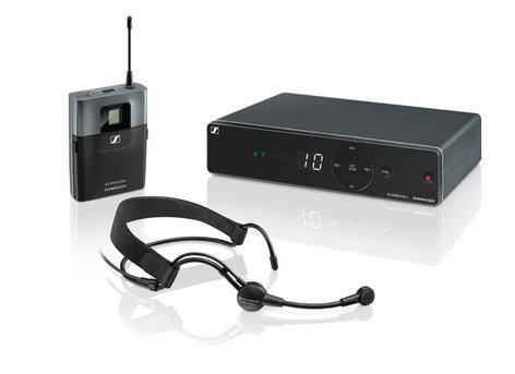 Sennheiser XSW1-ME3 Wireless Headworn Microphone System, A-Frequency Range 548 - 572 MHz XSW1-ME3-A