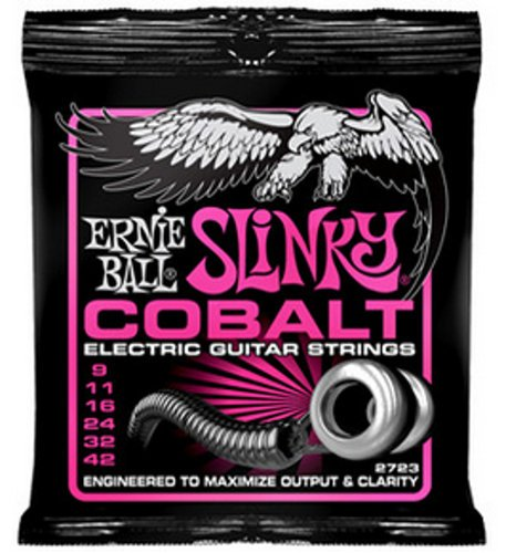 Ernie Ball P02723 Super Cobalt Slinky Electric Guitar Strings P02723