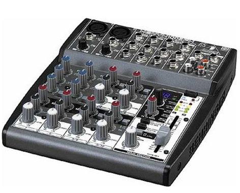 Behringer XENYX-1002FX Mixer, 10-Input, 2-Buss, with Digital Effects XENYX-1002FX