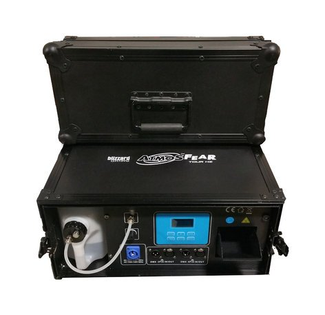 Blizzard ATMOSFEAR-TOUR-HZ AtmosFear Tour HZ DMX-Controllable Hazer with Built-In Flight Case ATMOSFEAR-TOUR-HZ