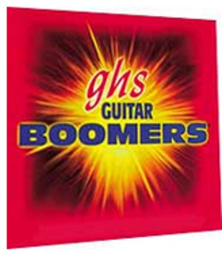 GHS Strings GBXL Dynamite Alloy Boomers Extra-Light Gauge Electric Guitar Strings (Roundwound Nickel-Plated Steel) GBXL