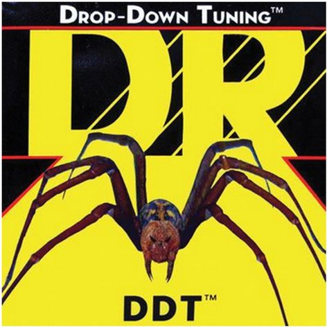 DR Strings DDT10 Medium Drop-Down Tuning Electric Guitar Strings DDT10