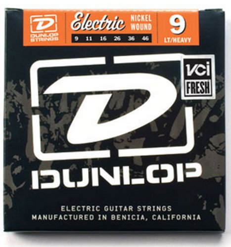 Dunlop Manufacturing DEN0946 Light/Heavy Nickel Wound Electric Guitar Strings DEN0946