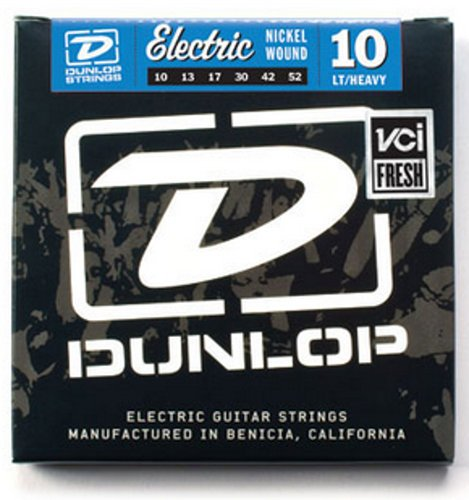 Dunlop Manufacturing DEN1052 Light/Heavy Nickel Wound Electric Guitar Strings DEN1052
