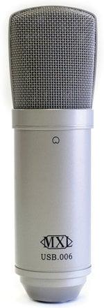 MXL Microphones MXL-USB.006 Large Diaphragm Condenser Microphone USB MXL-USB.006