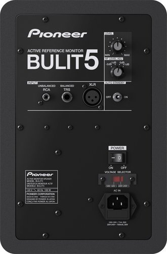 "Pioneer BULIT5  5"" Active Reference Studio Monitor BULIT5"