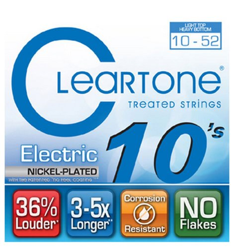 Cleartone Guitar Strings 9420 Light Top/ Heavy Bottom Electric Guitar Strings 9420-CLEARTONE