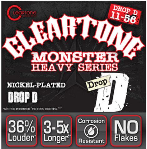 "Cleartone Guitar Strings 9456 .011-.056"" Drop D Electric Guitar Strings 9456-CLEARTONE"