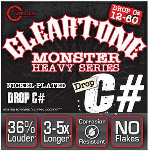 "Cleartone Guitar Strings 9460 .012-.060"" Drop C# Electric Guitar Strings 9460-CLEARTONE"