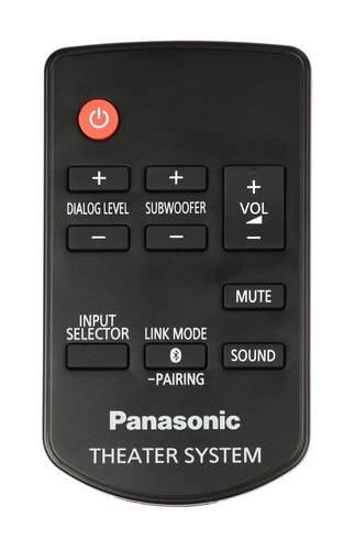 Panasonic N2QAYC000083 Remote for Soundbar SCHTB N2QAYC000083
