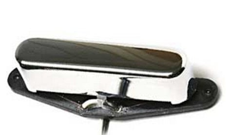 Seymour Duncan STR-2 Hot Tele Rhythm (Neck), Chrome Cover Single-Coil Guitar Pickup, Hot Tele Rhythm (Neck), Chrome Cover STR-2
