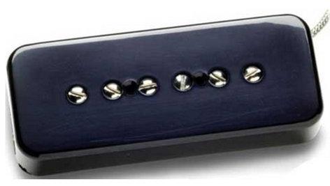 Seymour Duncan SP90-2B Hot Soapbar, Bridge, Black Single-Coil Guitar Pickup, Hot Soapbar, Bridge, Black SP90-2B