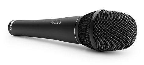 DPA Microphones FA2006VSL1B d:facto Interview Microphone with Wireless SL1 Adapter in Black FA2006VSL1B